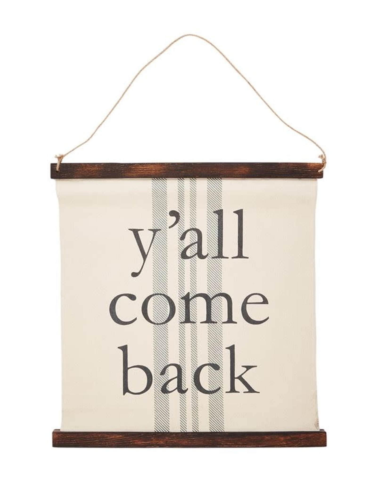 Wink Y'all Come Back Wall Hanging