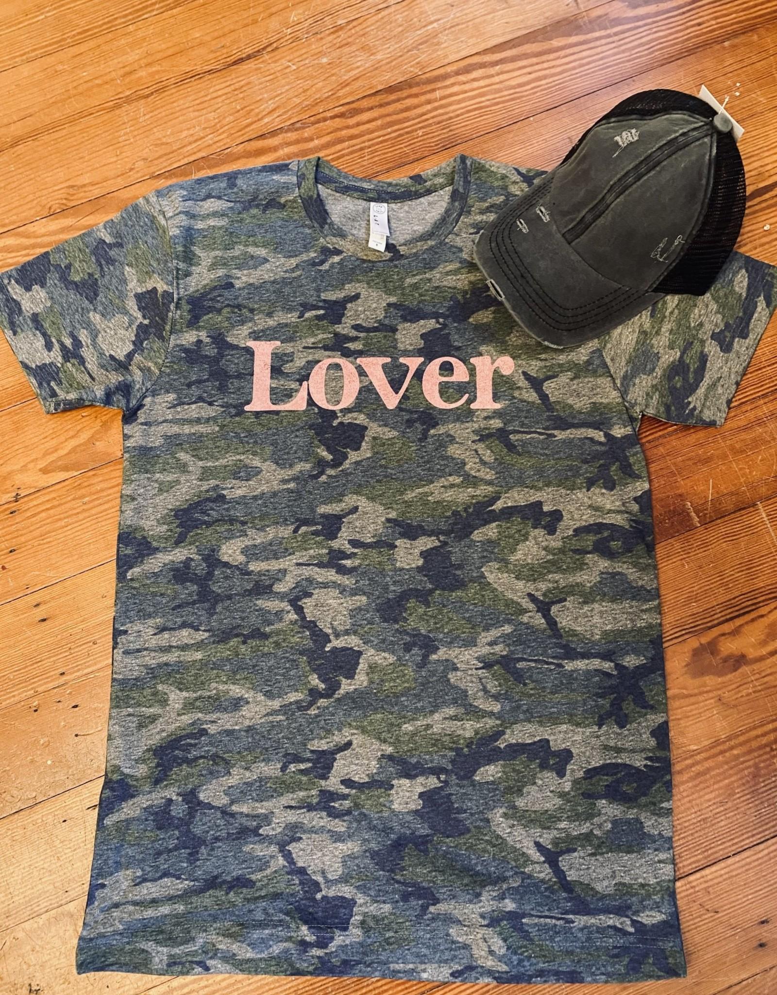 Wink Lover Camo Tee