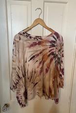 Wink Tie Dye Print Top