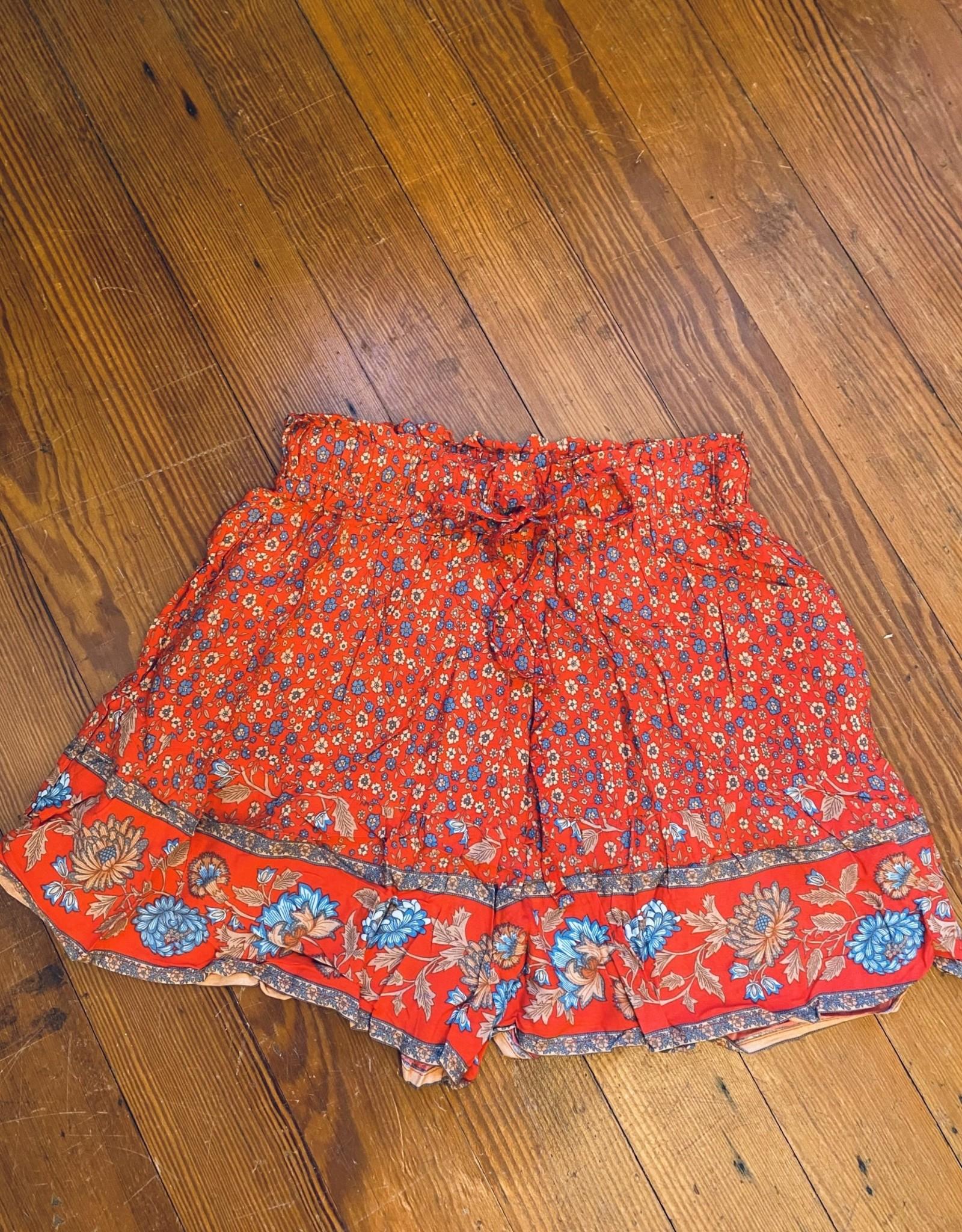 Wink Boho Floral Shorts