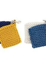 Wink Crochet Pot Holder Set