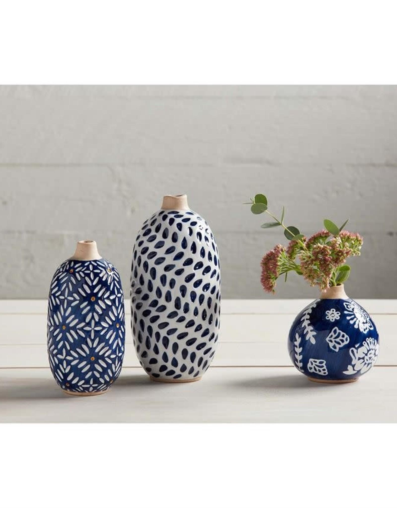 Wink Indigo Bud Vase-Small