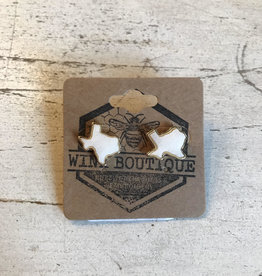 Wink Texas Stone Stud Earrings