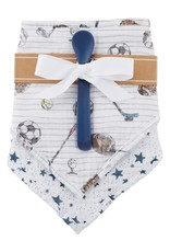 Wink Sport Bib and Spoon Set