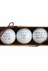 Wink Let's Par Tee Golf Ball Set