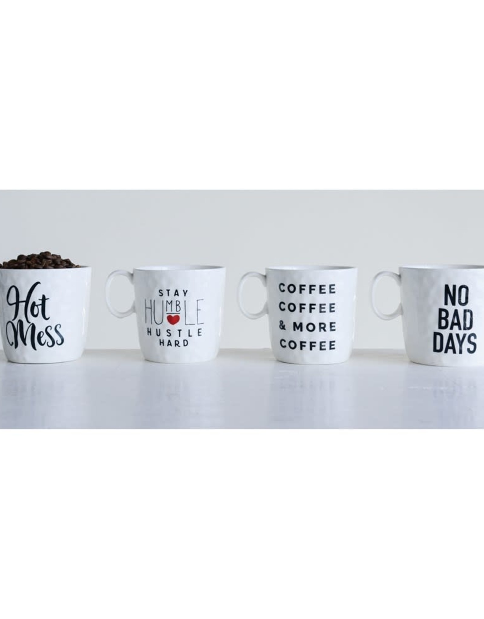 Wink Coffee Mug with Saying