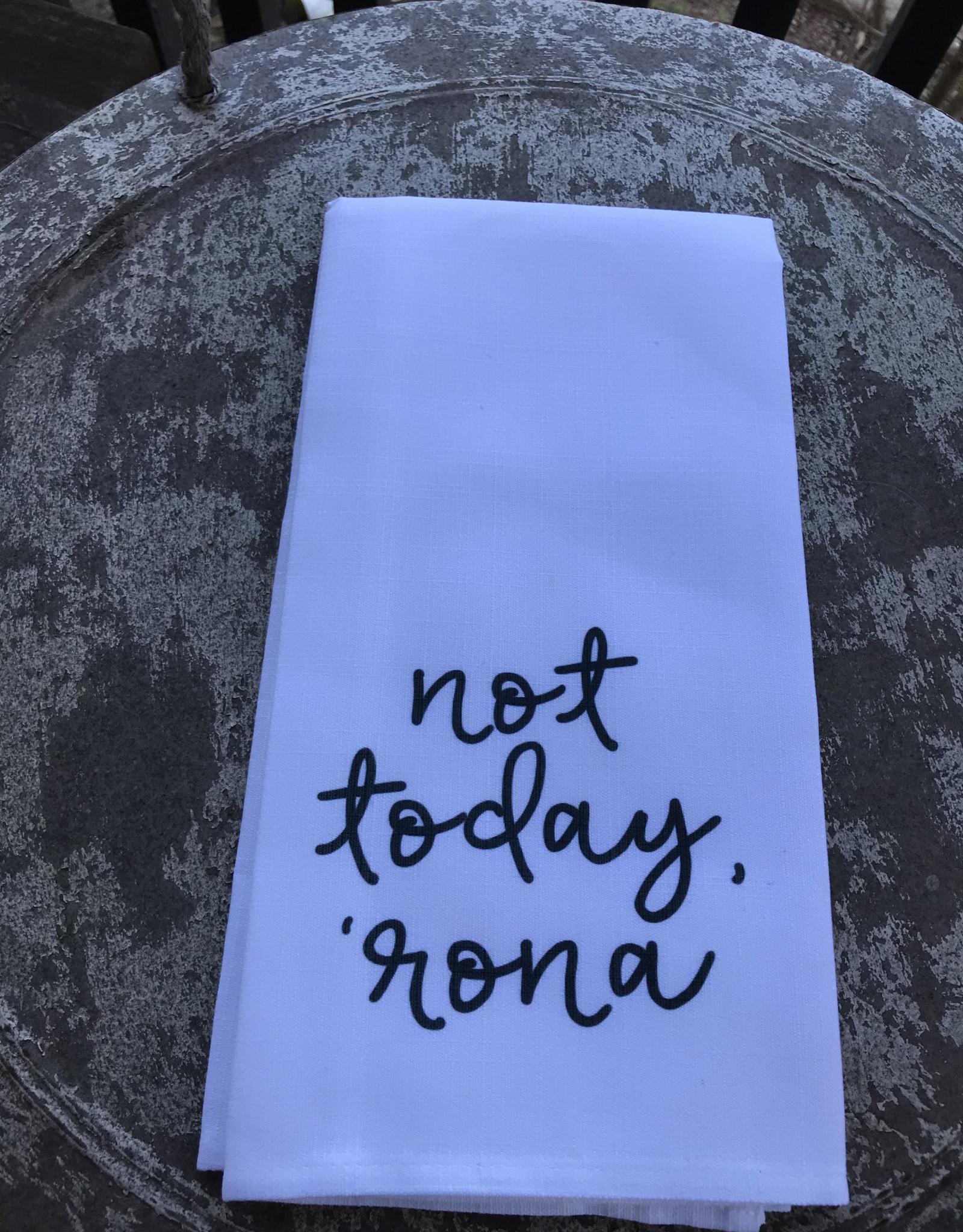 Wink Not Today Rona Tea Towel