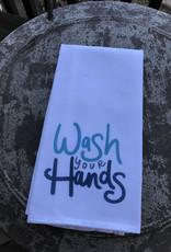 Wink Wash Your Hands Tea Towel