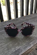 Pink Tortoiseshell Sunglasses