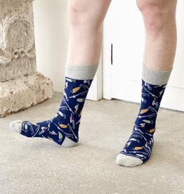 Wink Hook Line and Sinker Men's Socks