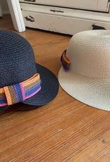 Wink Straw Hat with Round Brim