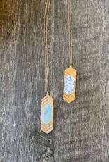 Wink Double Arrow Drop Necklace