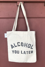 Wink Call You Later Canvas Bag