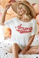 Wink America Raglan Top
