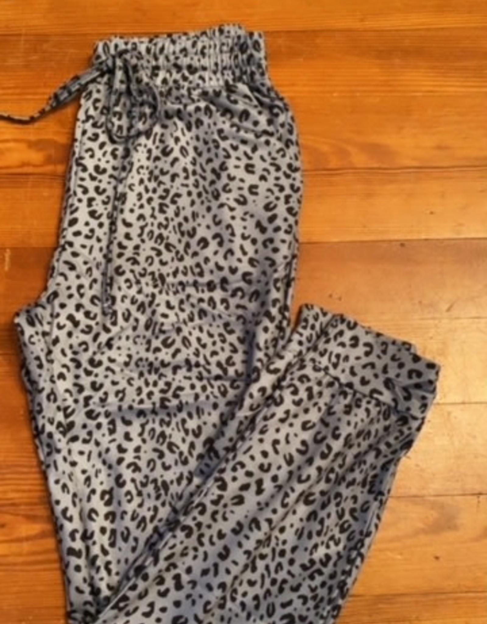 Wink Leopard Joggers