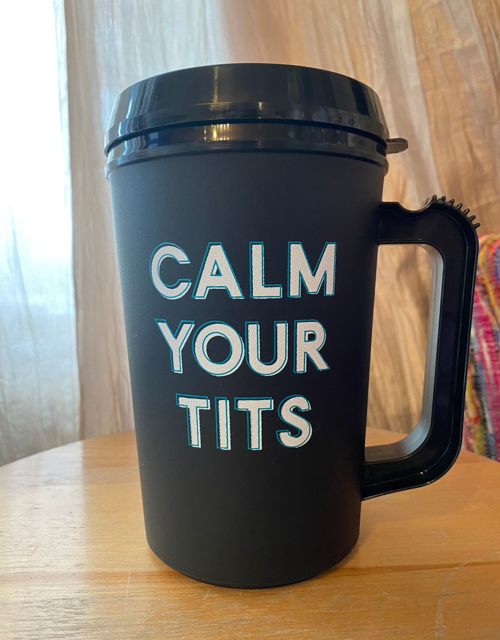 Wink Calm Your Tits Thermal Insulated Cup