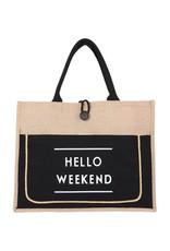 Wink Hello Weekend Tote