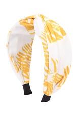 Wink Summer Yellow Printed Headband