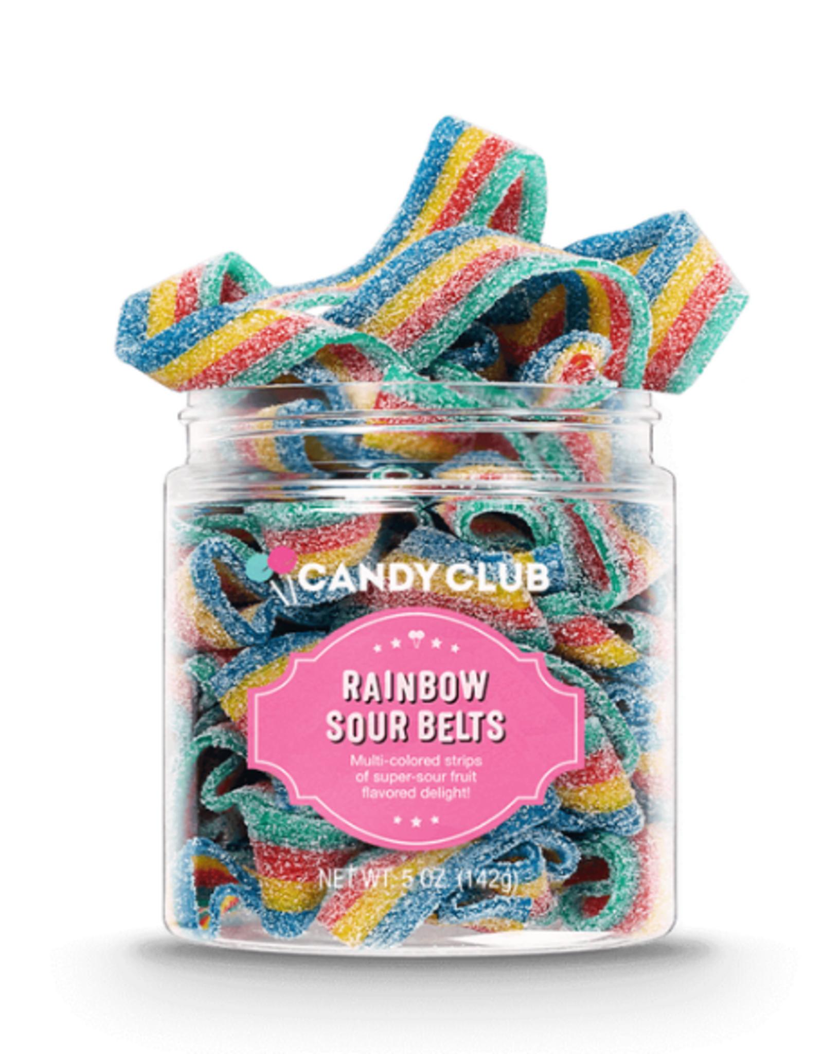 Candy Club Rainbow Sour Belt Candy