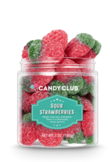 Candy Club Sour Strawberries Candy
