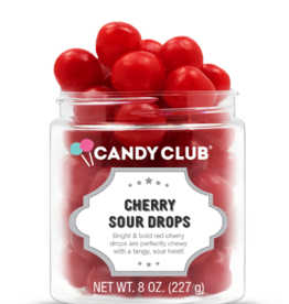 Candy Club Cherry Sour Drops Candy