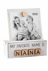 Mud Pie My Favorite Name is Nana Photo Stand
