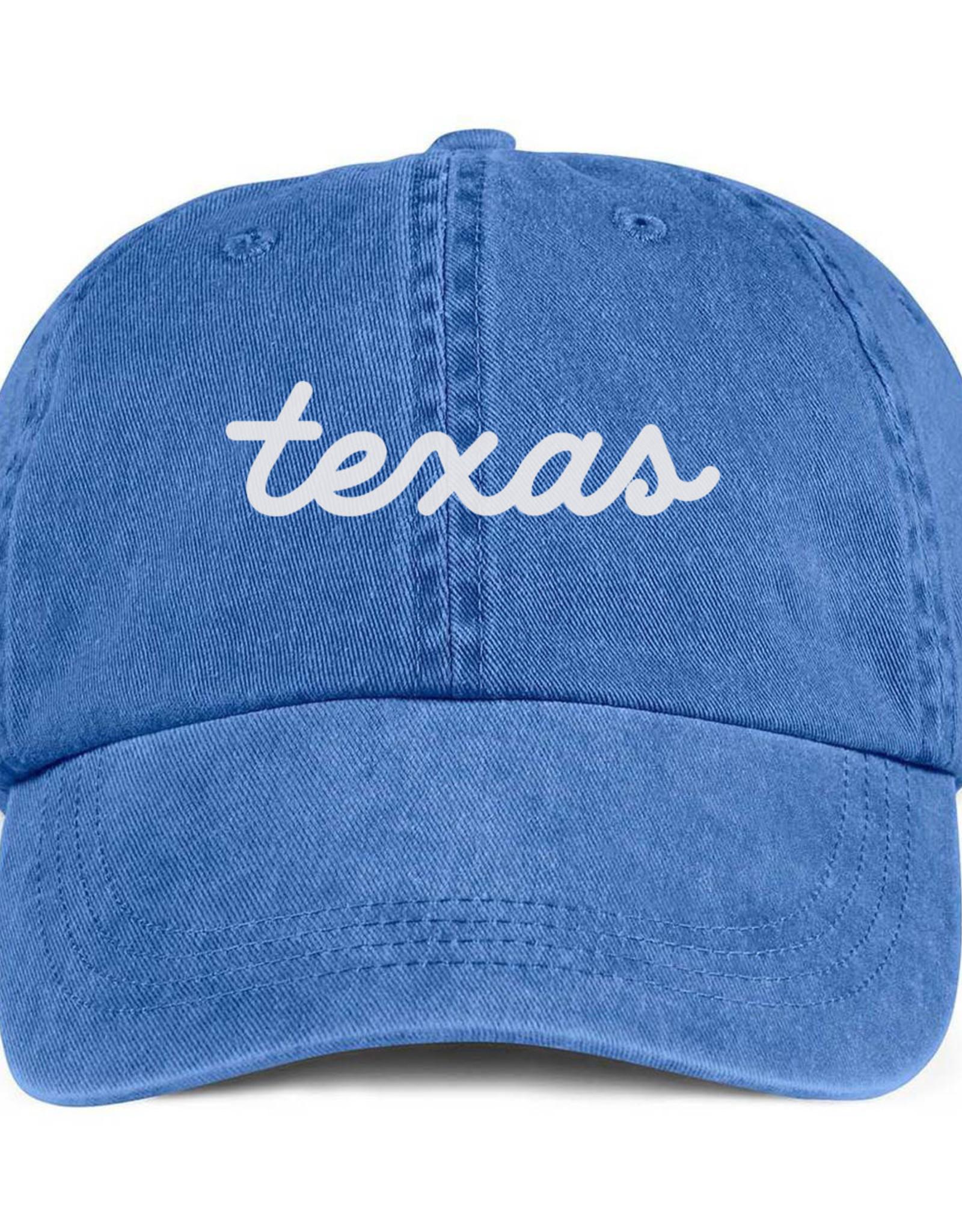 Wink Texas Script hat