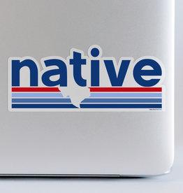 Wink Native Large Sticker
