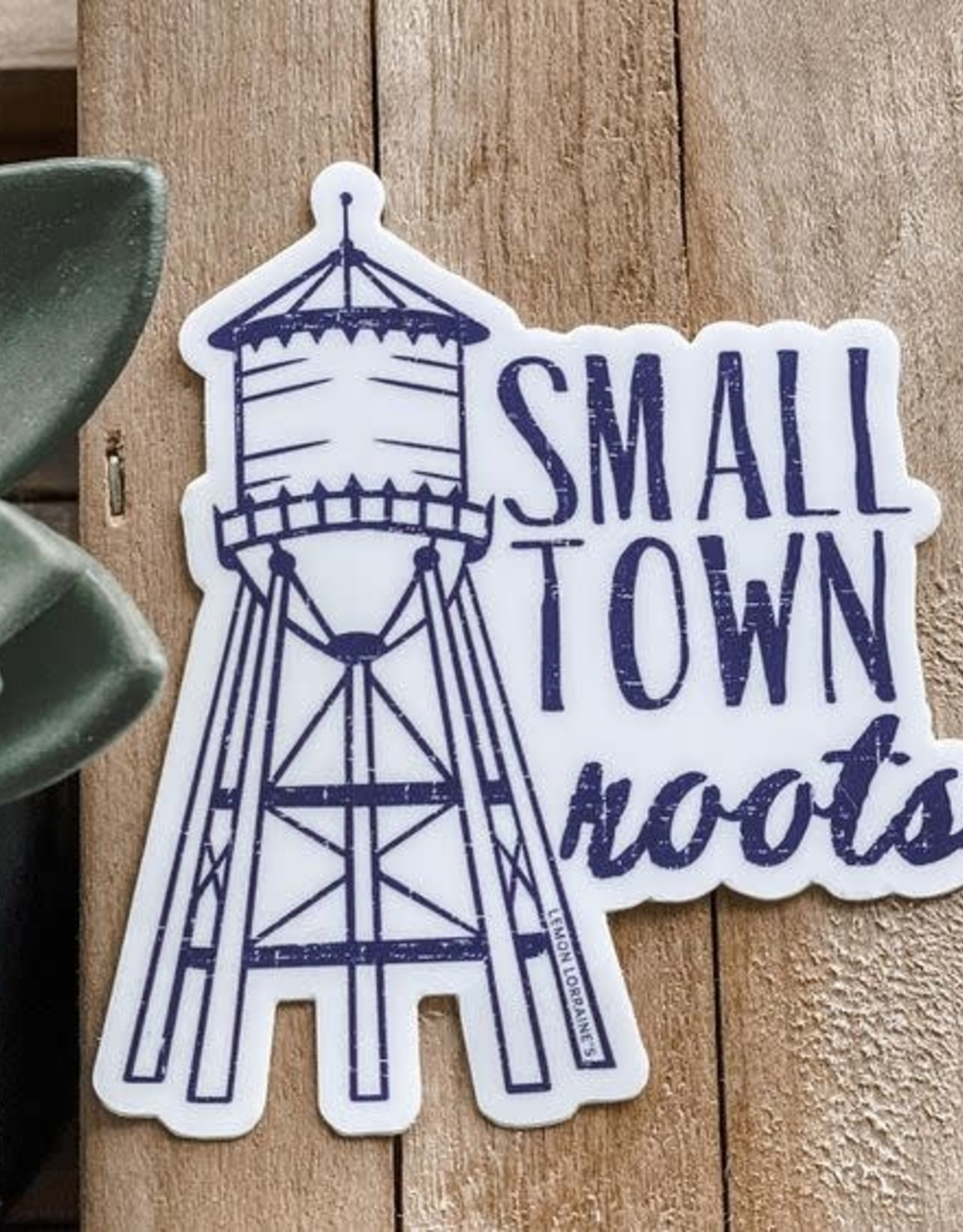 Wink Small Town Roots Sticker