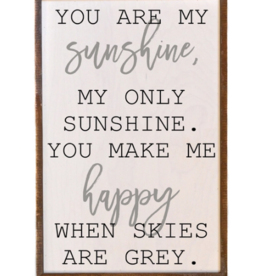 Wink You Are My Sunshine Sign