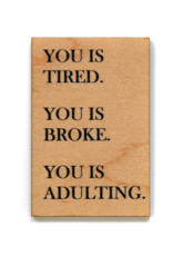 Wink Adulting Magnet