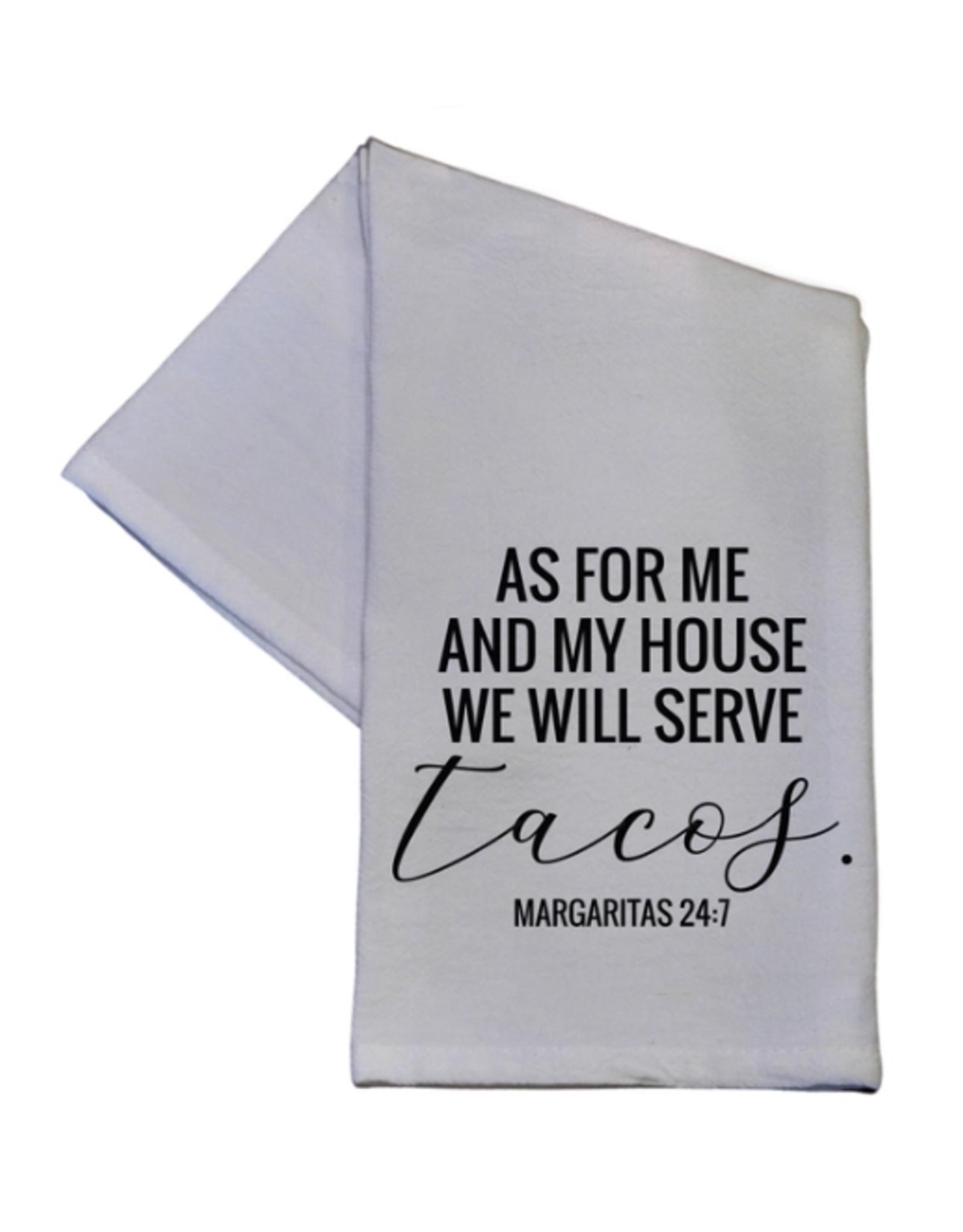 Wink We Will Serve Tacos Hand Towel