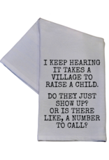 Wink It Takes a Village Hand Towel