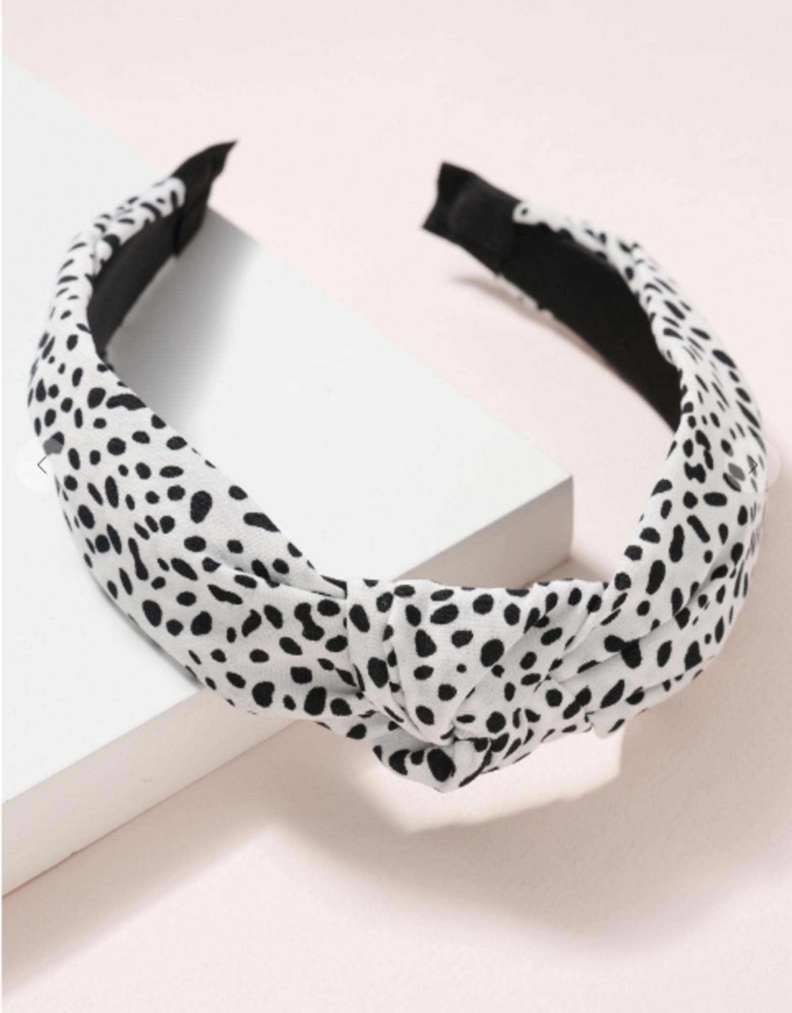 Wink Cheetah Print Knot Headband