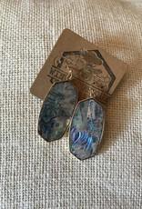 Wink Abbie Hexagon Dangle Earrings