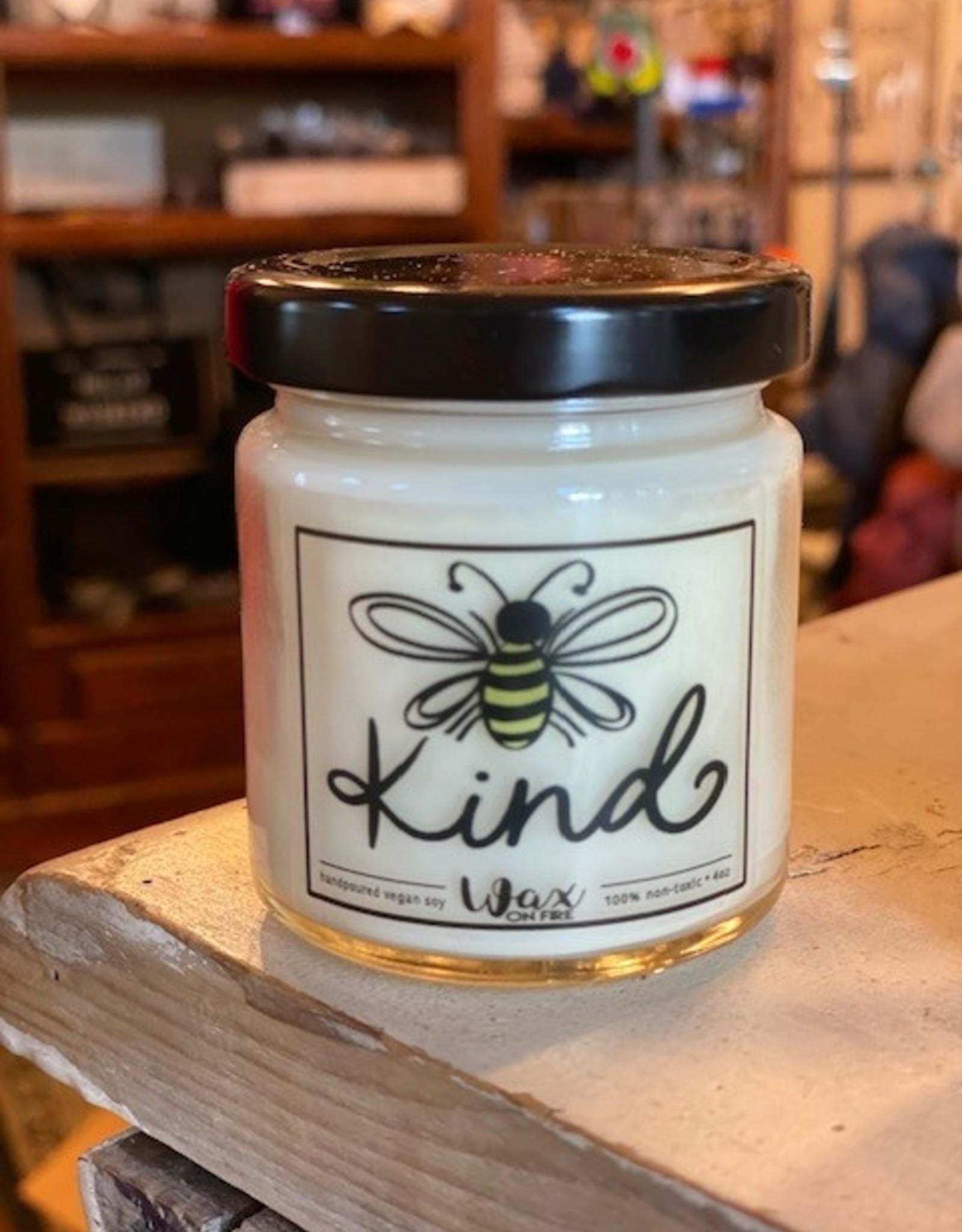 Wink 4 oz. Bee Kind Candle - Jasmine