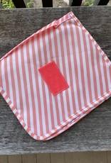 Wink Hangable Cosmetic Bag - Pink Stripe