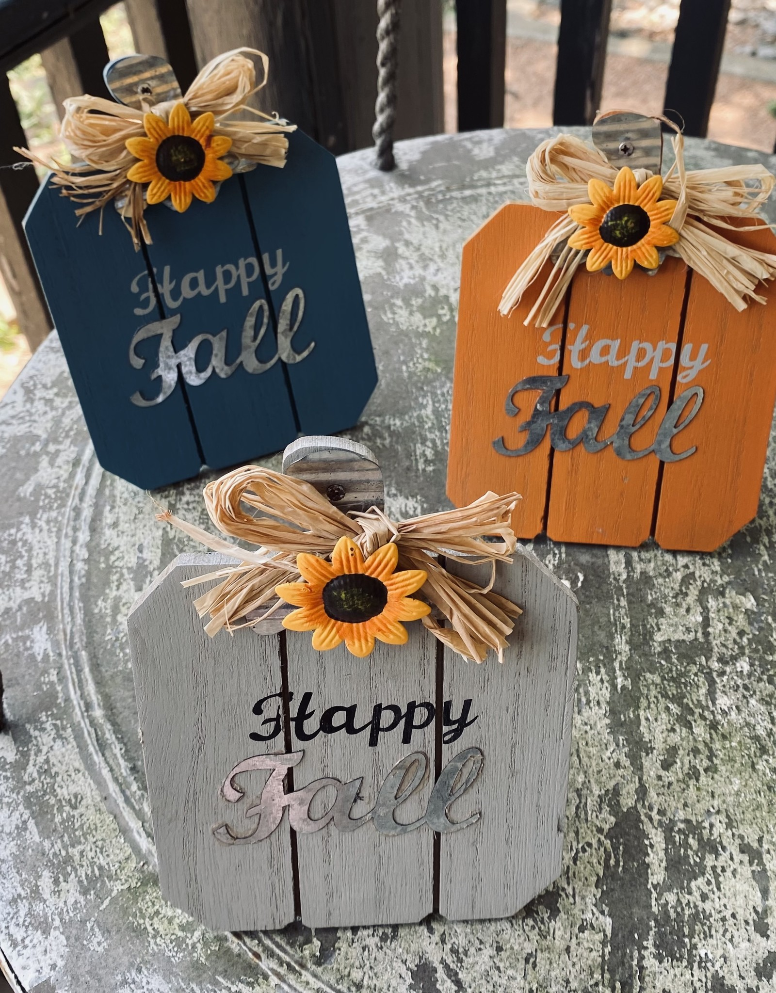 Wink Happy Fall Sunflower Sitter