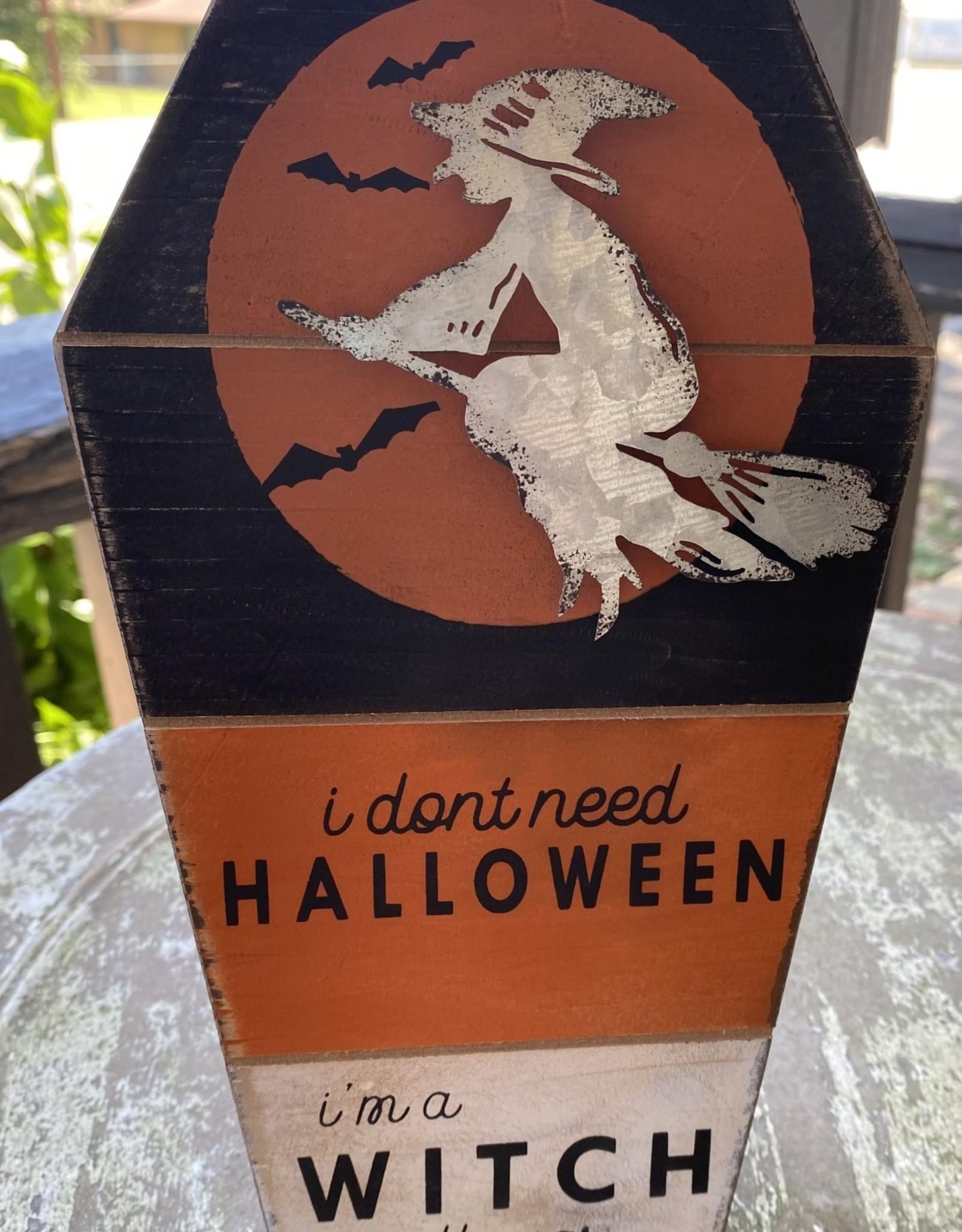Wink Witch All Year Shelf Sitter