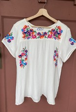 Wink Embroidered Short Sleeve