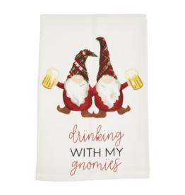 Mud Pie Drinking with my Gnomies Towel