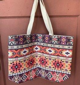 Wink Aztec Tote Bag