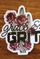 Wink Grace & Grit Sticker