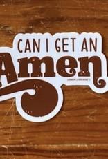 Wink Can I Get An Amen Sticker