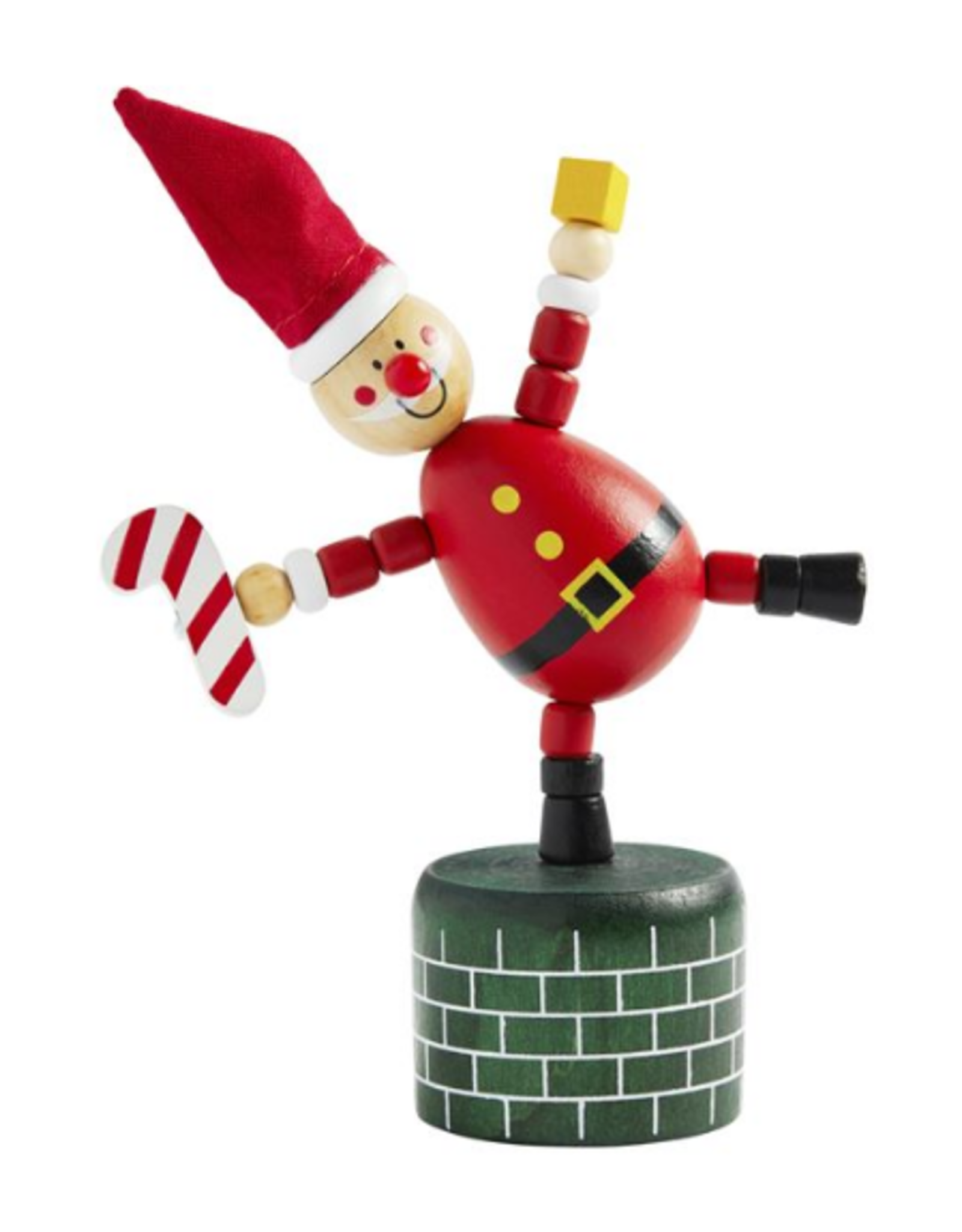 Wink Christmas Collapsing Wood Toy