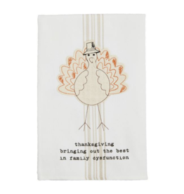 Mud Pie Family Dysfunction Towel