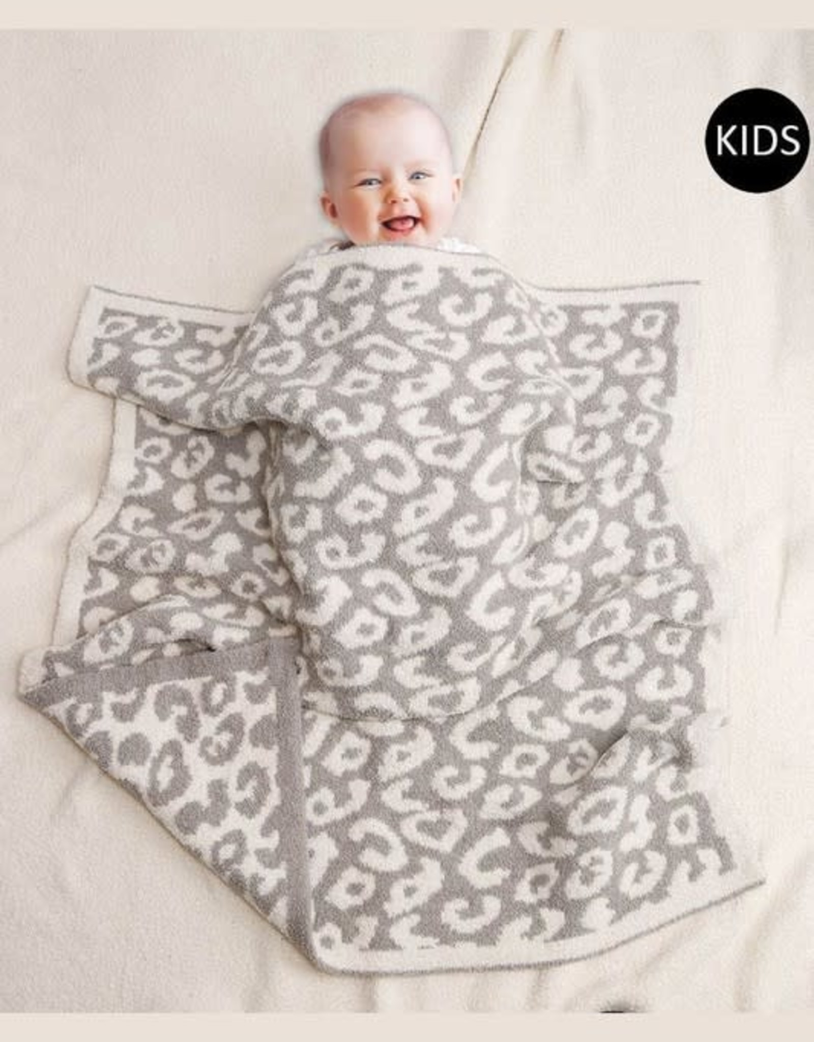Wink Leopard Blanket