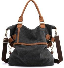 Wink Canvas Messenger Bag