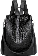 Wink Alligator Print Backpack