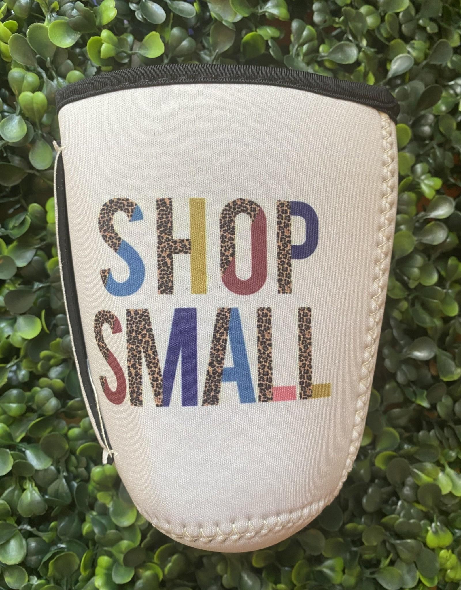 Wink Shop Small Coffee Koozie